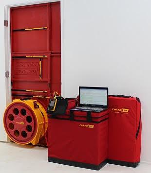 Blower Door Test Equipment