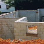 single block brick wall